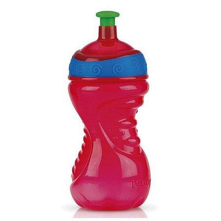 Copo Squeeze Vermelho 300 ml Nuby