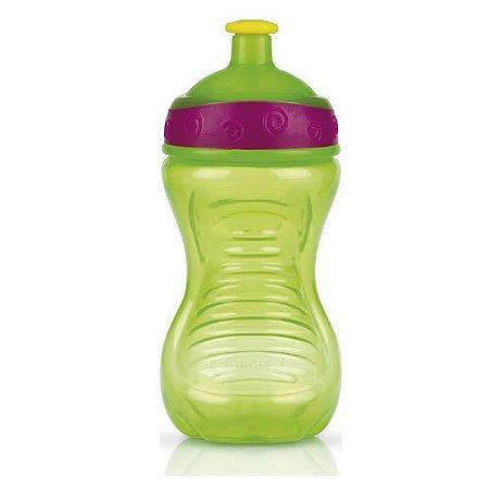 Copo Squeeze Verde 300 ml Nuby