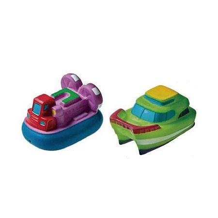 Brinquedo Barquinhos para Banho (roxo / verde) - Girotondo Baby
