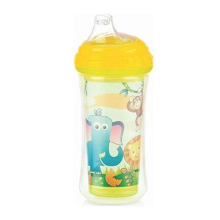 Copo Térmico com bico de silicone e Trava - Zoo - 270 ml – Nuby