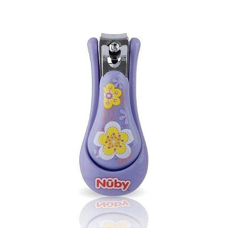 Cortador de Unhas Infantil - Roxo - Nuby