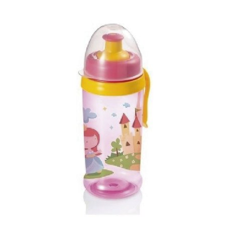 Copo Squeeze Grow - Rosa - 360ml - 36M+ - Multikids Baby