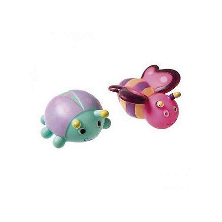 Brinquedo Insetos para Banho - Borboleta e Joaninha - Girotondo Baby