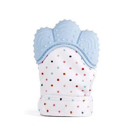 Luva Mordedor de Silicone - Azul - Girotondo Baby