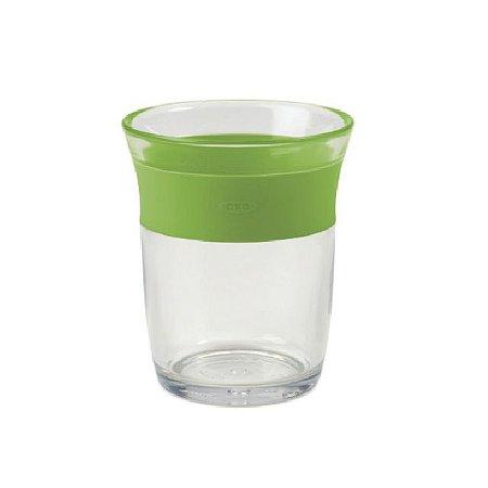 Copo Infantil com plástico transparente Big Kids - Verde - 150 ml – Oxo Tot