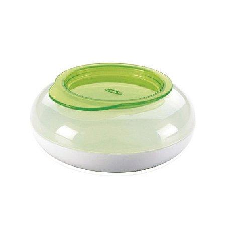 Pote de lanche Infantil Disk - Verde – 180 ml -  Oxo Tot