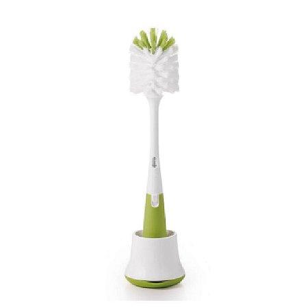 Escova para limpeza de mamadeiras e acessórios (com suporte) -  Oxo Tot