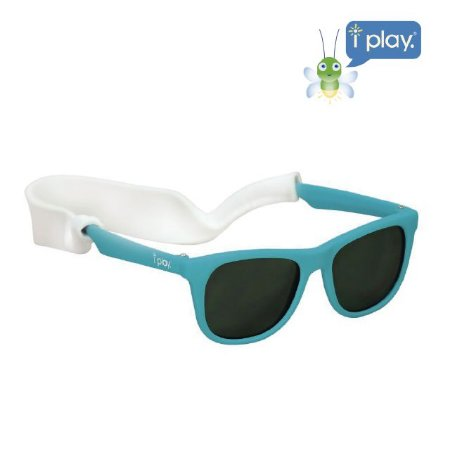 Óculos de Sol Flexível Infantil - Azul Aqua - 2-4 anos - Iplay