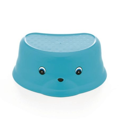 Degrau / Banquinho Infantil para Higiene - Azul Turqueza - Adoleta