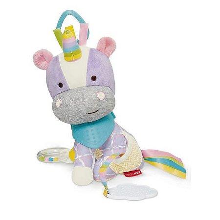 Brinquedo pelúcia de Atividades com Mordedor (Bandana Buddies) Unicornio - Skip Hop