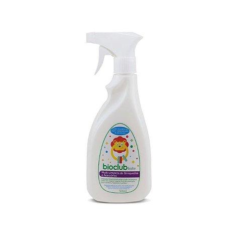 Spray Multi Limpeza de Brinquedos e Acessórios - 500ml - Bioclub Baby