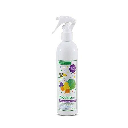 Spray para Limpeza de Frutas e Vegetais Orgânico - 300ml - Bioclub Baby