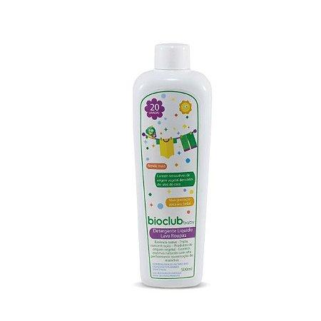 Detergente líquido orgânico lava roupas – 500 ml – Bioclub Baby