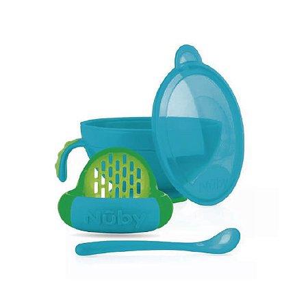 Preparador de Papinhas - Azul - Nuby