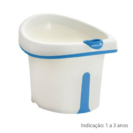 Banheira Bubbles Azul - Safety 1st