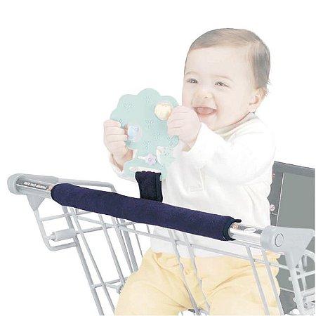 Protetor para Barra de Carrinho de Supermercado com Alça para Brinquedo ou Mordedor Buggy Buddy - Jolly Jumper