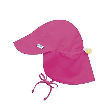 Chapéu de Banho Infantil tipo Australiano com FPS +50 - Rosa Pink - Iplay