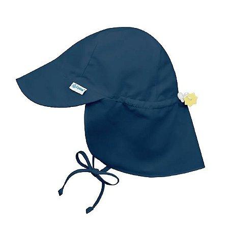 Chapéu de Banho Infantil tipo Australiano com FPS+50 - Azul Marinho - Iplay
