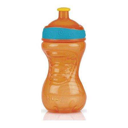 Copo Squeeze Laranja 300 ml Nuby