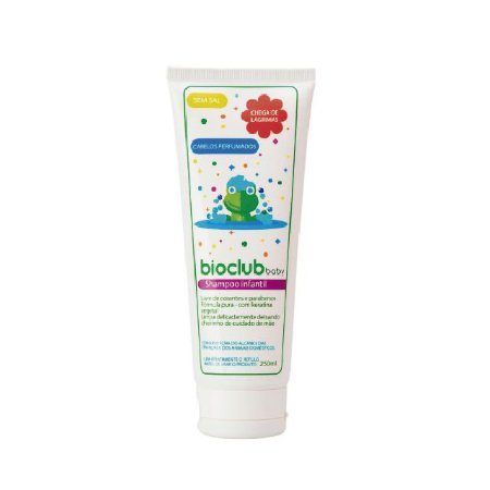 Shampoo infantil com keratina vegetal sem sal - 250ml - Bioclub Baby