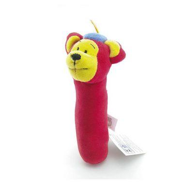 Chocalho Tuby Circo - Urso Vermelho - Zip Toys