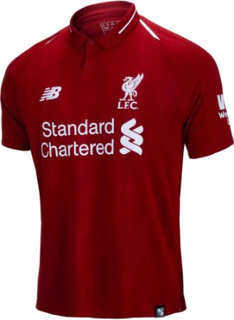 Camisa New Balance Liverpool  865e9424cda