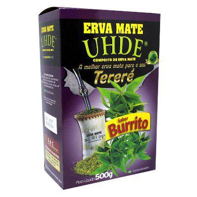 Erva Mate UHDE Burrito 500G