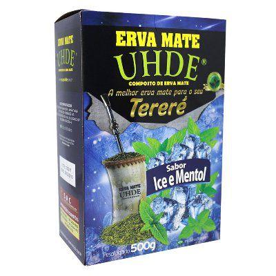 Erva Mate UHDE Ice Mentol 500G