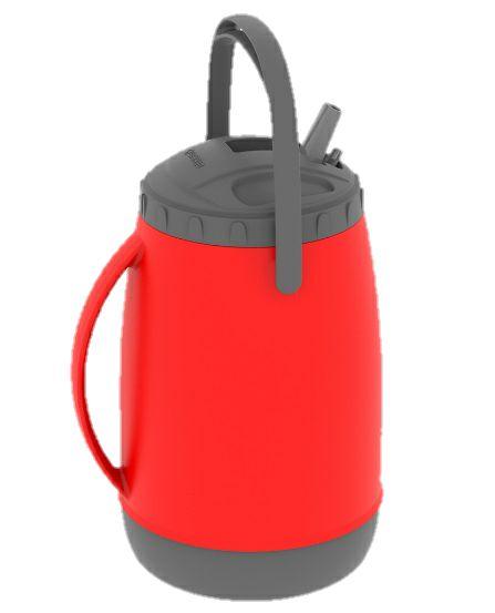 Garrafa Soprano Isotérmica Atacama Vermelha 2,5 Litros