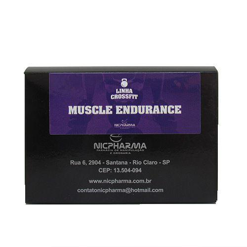 Muscle Endurance Linha CrossFit NIcpharma 30 envelopes