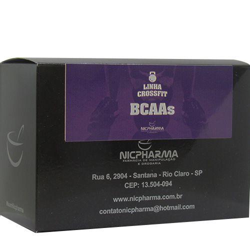 BCAA Masculino Linha CrossFit Nicpharma 30 Envelopes
