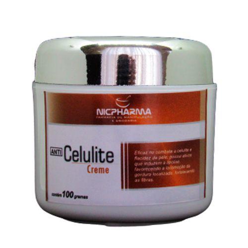 Creme Anti Celulite 100gr Nicpharma