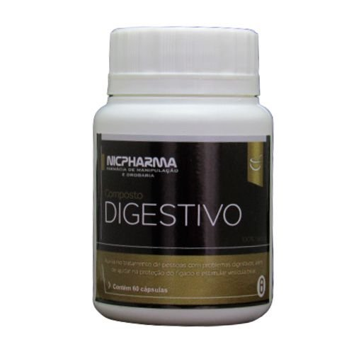 Composto Digestivo 60 cápsulas Nicpharma