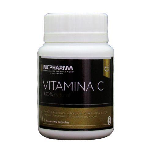 Vitamina C 500mg / 60 cápsulas Nicpharma