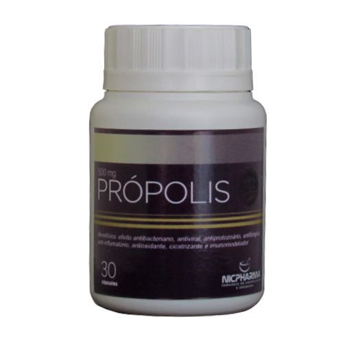 Propolis 500MG 30 Cápsulas Nicpharma