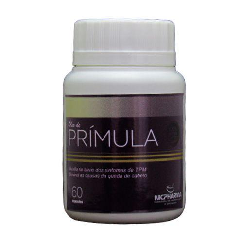 Oleo de Primula 500mg 60 cápsulas Nicpharma