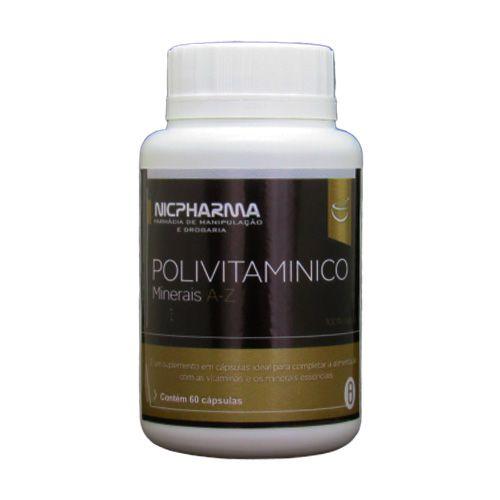 Vitaminas e Minerais de A-Z 60 cápsulas Nicpharma