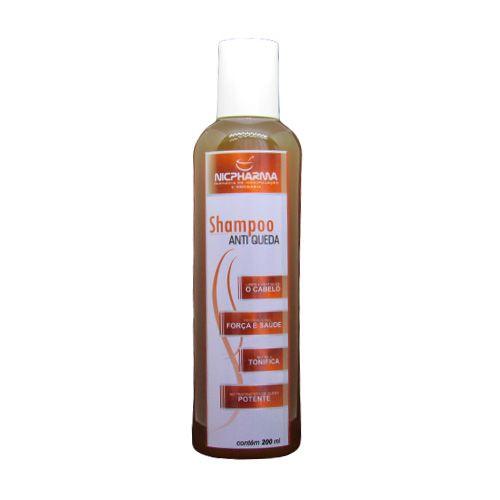 Shampoo Anti-Queda Turbo 200ml Nicpharma