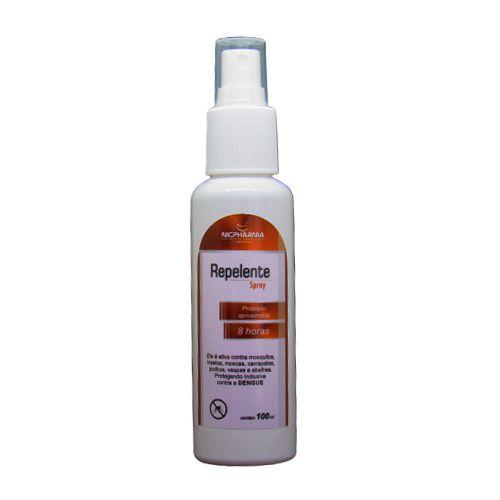 Spray Repelente 100ml Nicpharma
