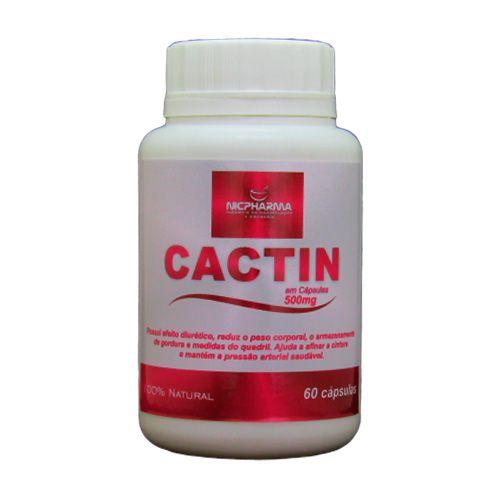 Cactin 500mg 60 cápsulas Nicpharma