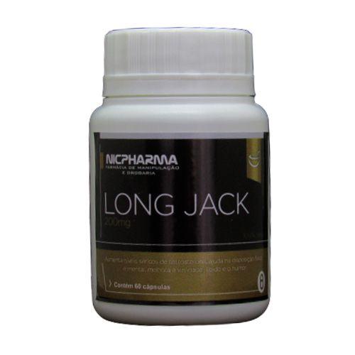 Long Jack 200mg 60 cápsulas Nicpharma