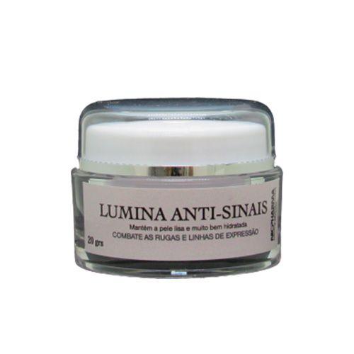 Lumina Creme Antissinais 30gr Nicpharma