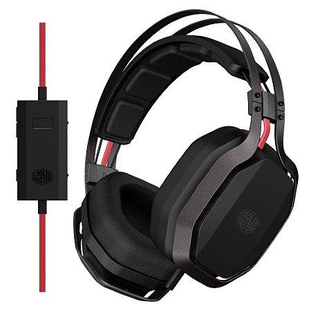Headset Cooler Master MasterPulse PRO 7.1 com Bass FX - SGH-8700-KK7D1