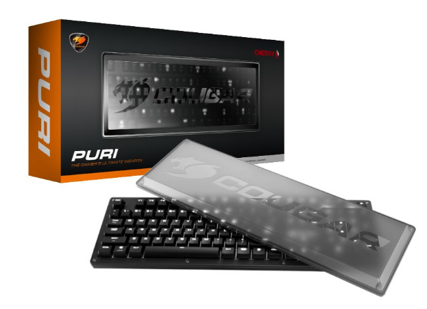 Teclado Mecânico Cougar Puri - 37PURM3SB.0004