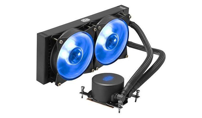 Water Cooler Cooler Master Masterliquid ML240R RGB (TR4) - MLX-D24M-A20PC-T1