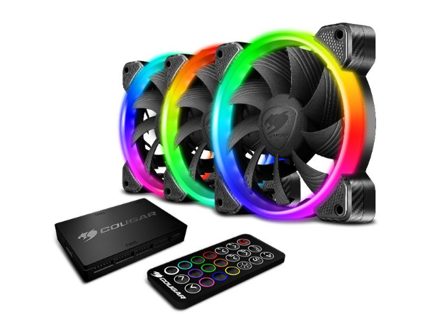 Kit Cooler Fan Cougar Vortex HPB RGB Cooling Kit - 3MHPBKIT.0001