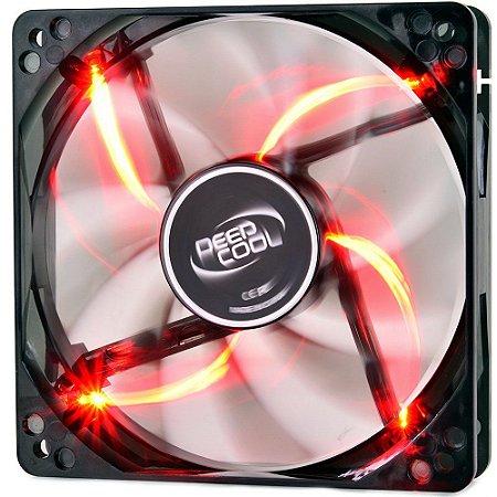 Case Fan DeepCool WIND BLADE 120 Led Vermelho