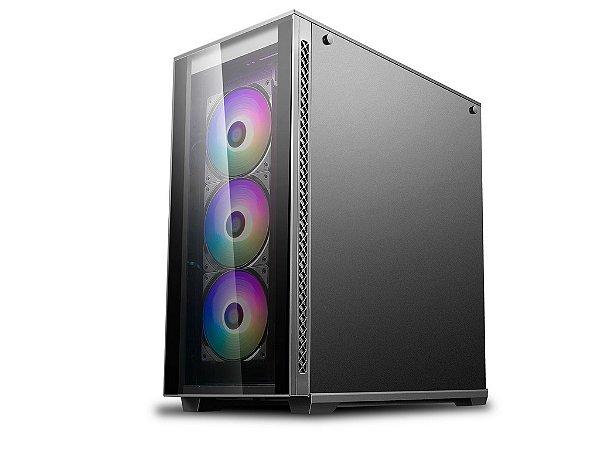 Gabinete Gamer Deepcool Matrexx 70 RGB 3F - DP-ATX-MATREXX70-BKG0P-3F
