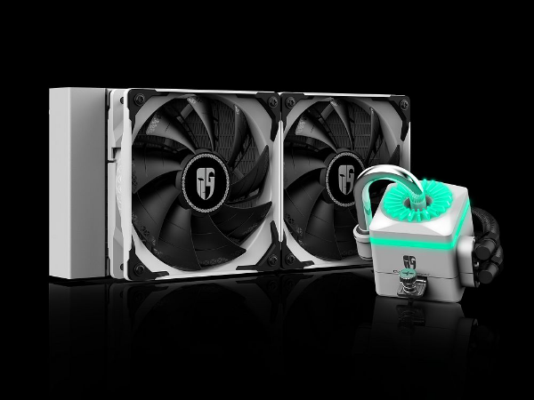 Water Cooler Gamerstorm Captain 240X White - DP-GS-H12-CT240XR-WH