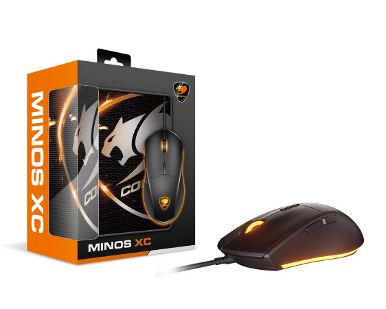 Combo Gamer Cougar Mouse Minos XC + Mousepad SPEED XC - 3MMXCWOB.0001